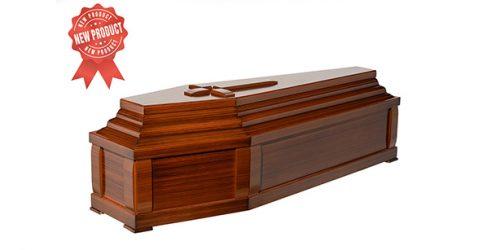 Coffin 40-size wallnut colour code 523