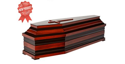 Coffin 40-size rose colour Code 524